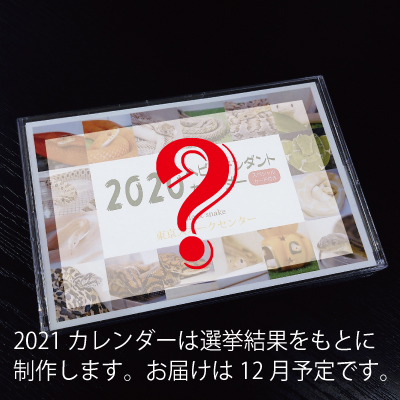 カレンダー2021と抜け殻のお守りセット